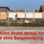 Ein illegaler Bau?