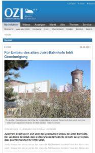 Artikel in der Ostfriesen-Zeitung vom 6.4.2021