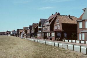 Juist 1976: Billstrasse